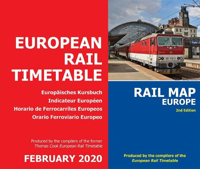 February 2020 and <br> Rail Map Europe BUNDLE